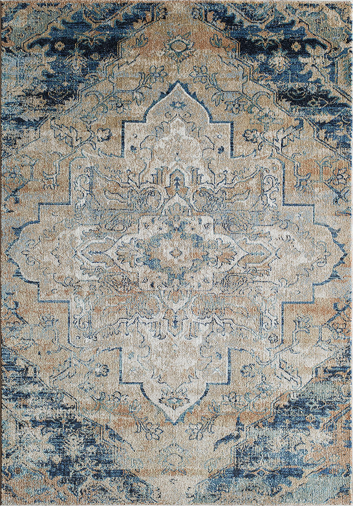 Amelia Am 03 Navy Area Rug By Momeni Carpetmart Com