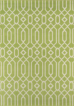 Momeni Baja BAJ-3 Links Green Area Rug