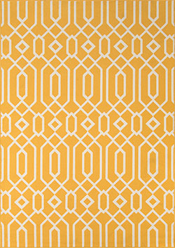 Momeni Baja BAJ-3 Links Yellow Area Rug