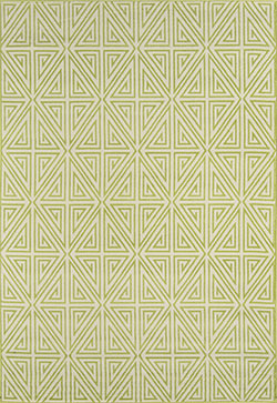 Momeni Baja BAJ-4 Diamonds Green Area Rug