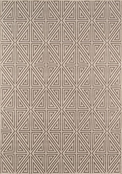 Momeni Baja BAJ-4 Diamonds Taupe Area Rug