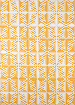 Momeni Baja BAJ-4 Diamonds Yellow Area Rug