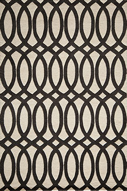 Momeni Delhi DL-57 Black Area Rug