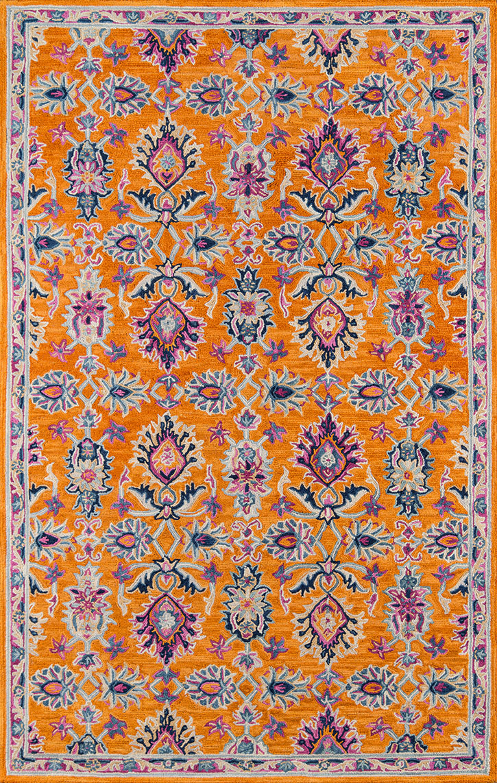 Momeni Ibiza Ibi 4 Orange Area Rug Carpetmart Com