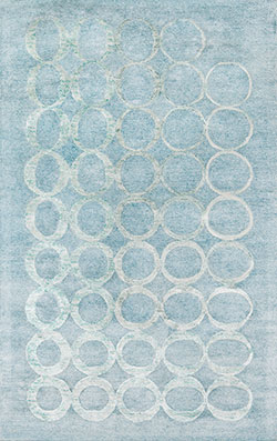 Momeni Millennia MI-01 Light Blue Area Rug