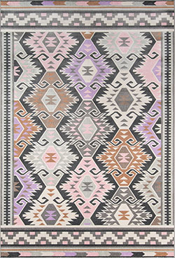 Novogratz by Momeni Terrace TRC-2 Boho Holiday Multi Area Rug