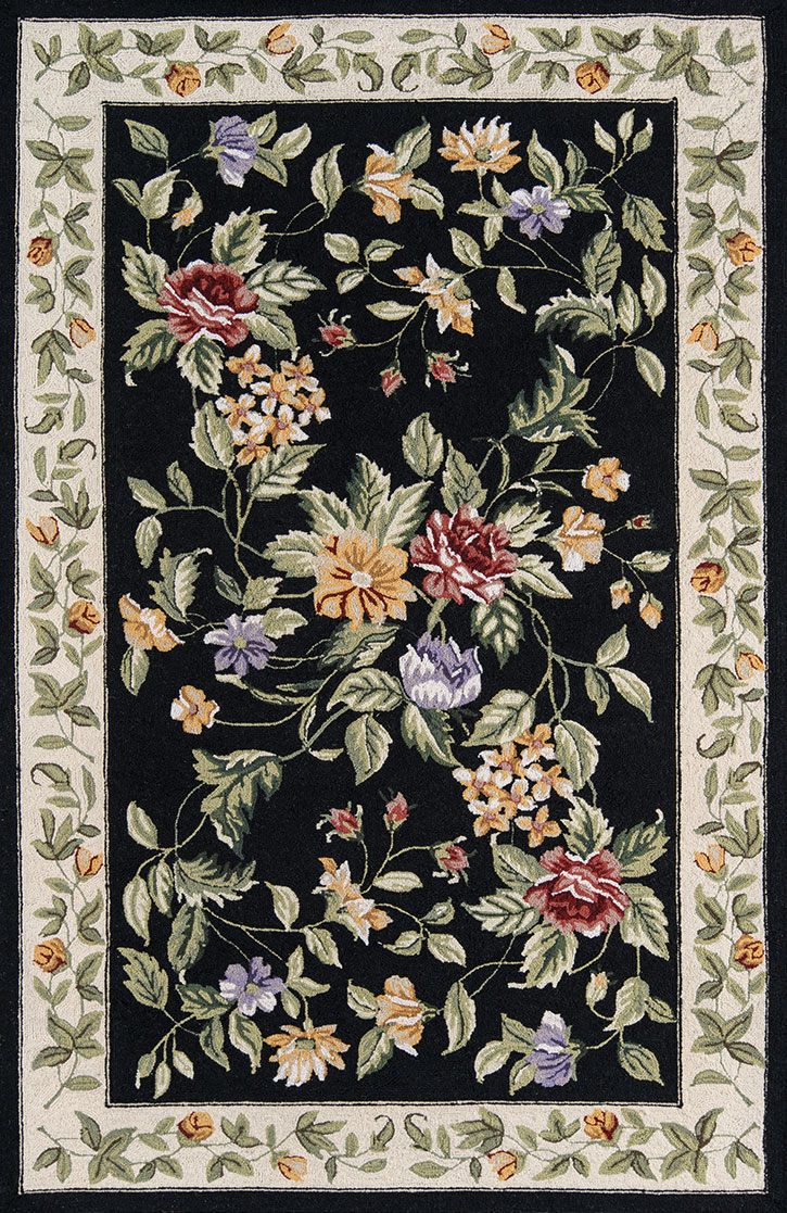 Momeni Spencer SP-16 Black Area Rug