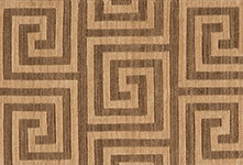 Nourison 50 to Infinity - Mediterranean Labyrinth Labyr Kafe-B Area Rug