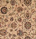 Nourison 50 to Infinity - Grand Parterre Parth Kashan PT01 Beige-B Area Rug