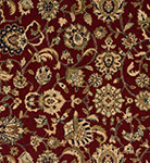 Nourison 50 to Infinity - Grand Parterre Parth Kashan PT01 Red-B Area Rug