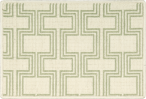 Nourison 50 to Infinity - Grosse Pointe Chandler Ivory/Meadow-B Custom Area Rug