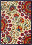 Nourison Aloha ALH20 Red/Multicolor Area Rug