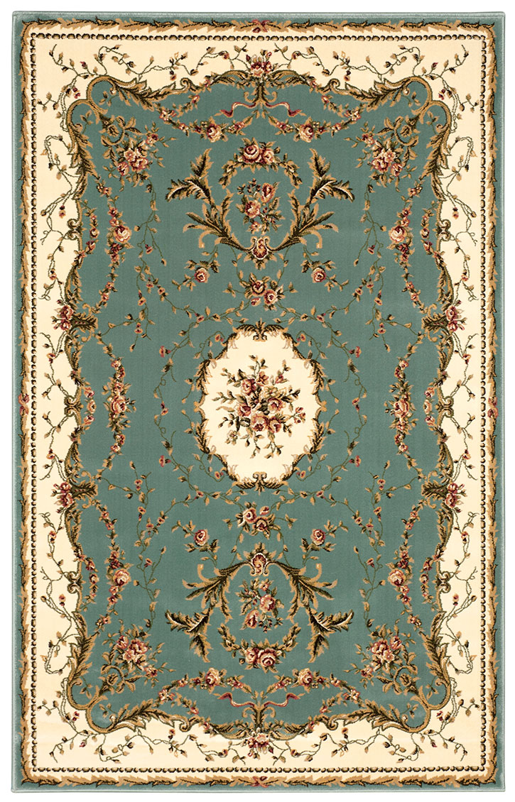 Bordeaux Bor01 Slate Blue Area Rug By Nourison