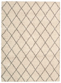 Nourison Brisbane BRI08 Cream Area Rug