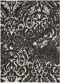 Nourison Brisbane BRI09 Black/White Area Rug
