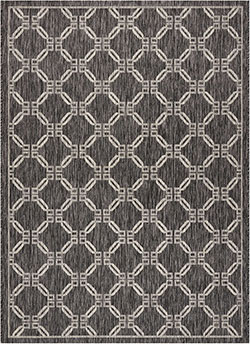 Nourison Country Side CTR02 Charcoal Area Rug
