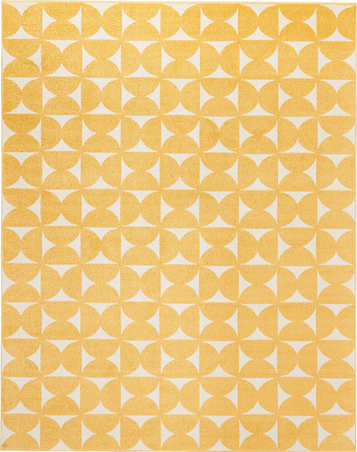 Nourison DWS03 Harper DS301 Yellow Area Rug