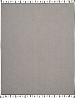 Nourison DWS06 Otto DS600 Light Grey Area Rug