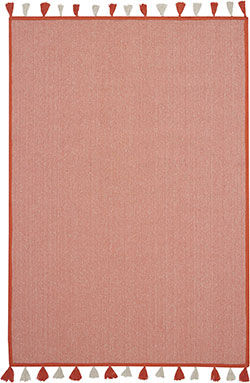 Nourison DWS06 Otto DS600 Orange Area Rug