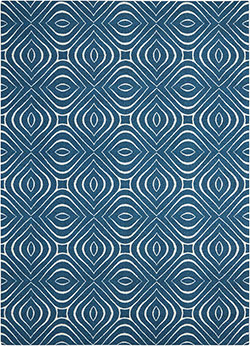 Nourison Enhance EN004 Cadet Blue Area Rug