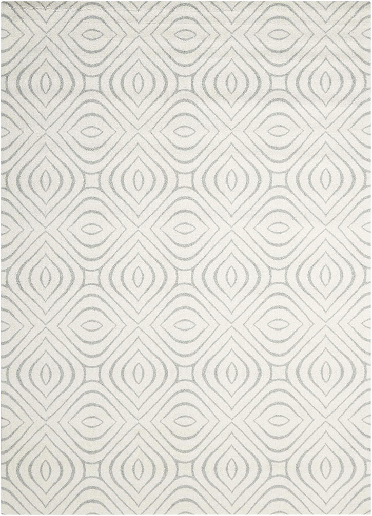 Nourison Enhance EN004 Iv/Grey Area Rug