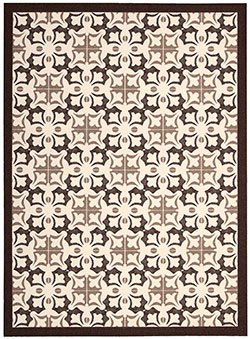 Nourison Enhance EN200 Brown Area Rug
