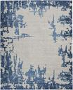 Nourison Etchings ETC04 Ivory/Blue Area Rug