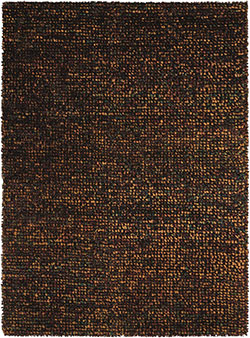 Nourison Fantasia FAN1 Brown Area Rug