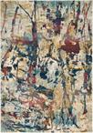 Nourison Fusion FSS10 Cream/Multicolor Area Rug