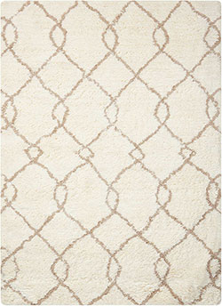 Nourison Galway GLW02 Ivory/Tan Area Rug