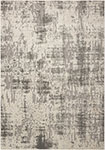Nourison Gleam MA602 Ivory/Grey Area Rug