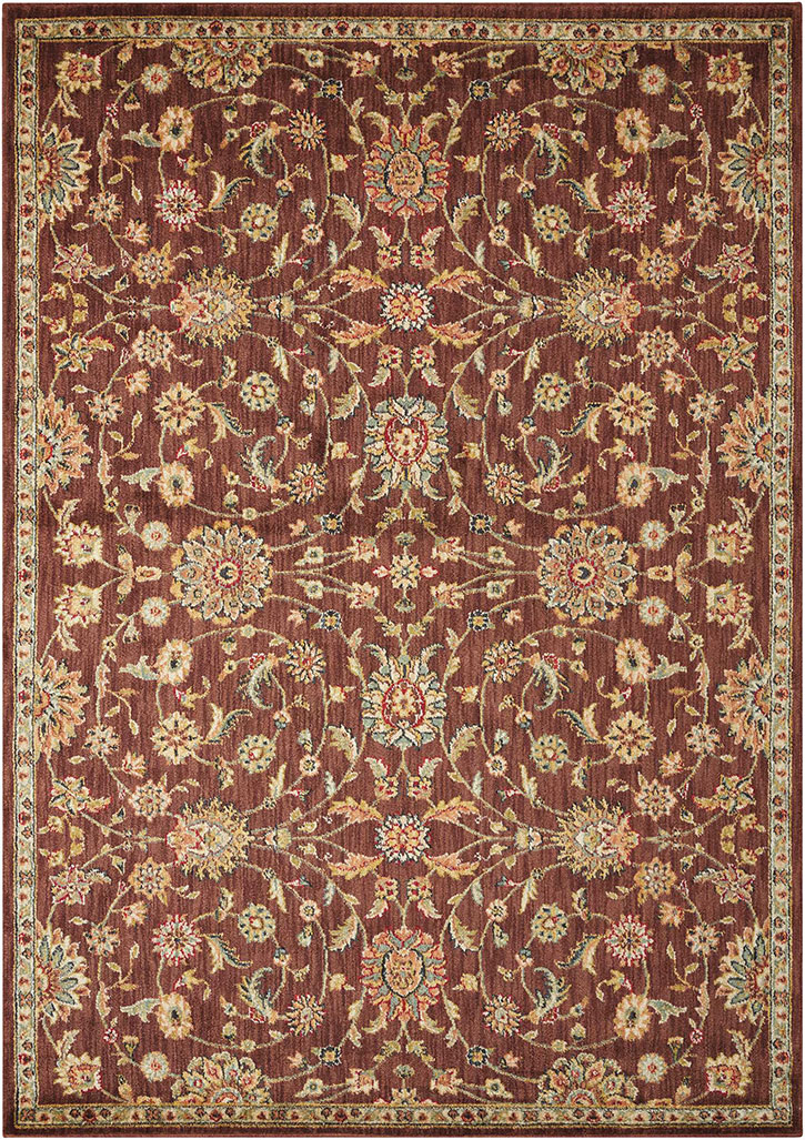 Kathy Ireland For Nourison Ki12 Ancient Times Bab05 Brown