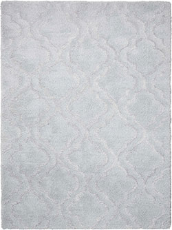 Kathy Ireland for Nourison KI30 Light & Airy KIT01 Lt Grey Area Rug