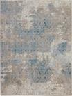 Nourison Karma KRM07 Ivory/Light Blue Area Rug