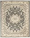 Nourison Living Treasures LI15 Grey/Ivory Area Rug