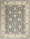 Nourison Living Treasures LI16 Grey/Ivory Area Rug