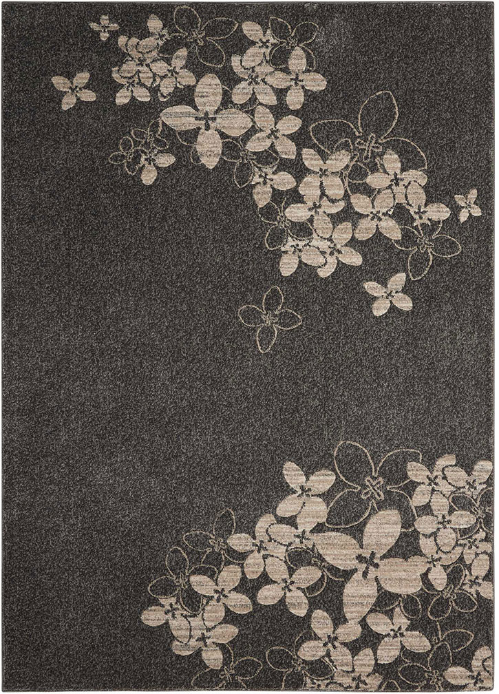 Nourison Maxell MAE02 Charcoal Area Rug
