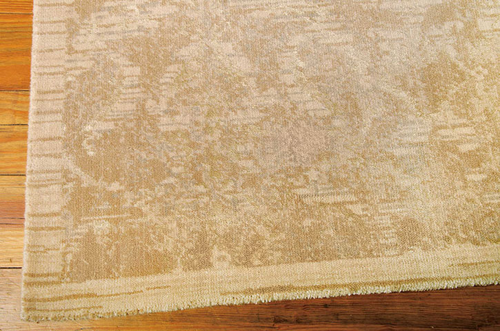 Nourison Silk Elements Ske03 Sand Area Rug Carpetmart Com