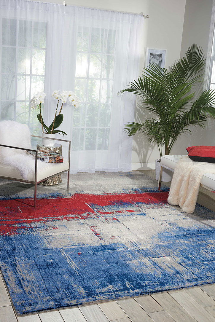 Nourison Twilight Twi19 Multicolor Area Rug Carpetmart Com