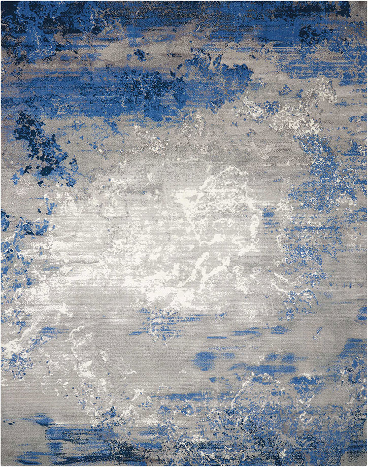 nourison twilight twi22 blue grey area rug | carpetmart