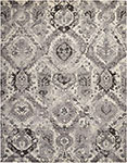 Nourison Twilight TWI03 Ivory Grey Area Rug
