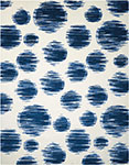 Nourison Twilight TWI23 Ivory Blue Area Rug