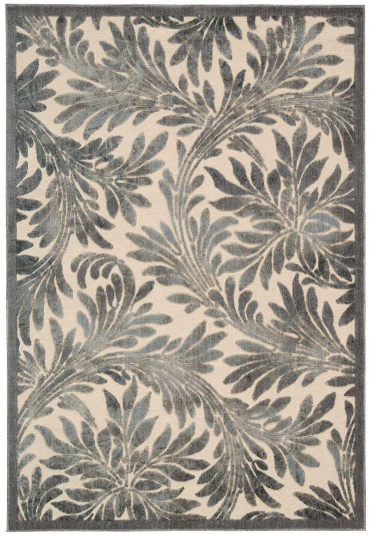 Nourison Graphic Illusions GIL19 Ivory Area Rug