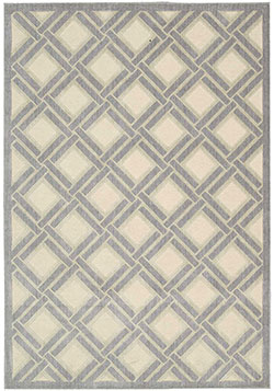 Nourison Graphic Illusions GIL21 Ivory Area Rug