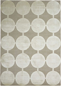 Nourison Luminance LUM02 Feather Area Rug
