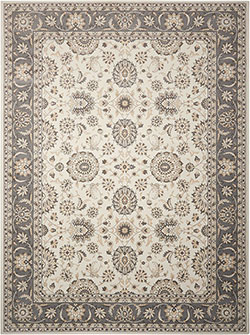 Nourison Persian Crown PC002 Ivory/Grey Area Rug