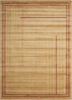 Nourison Somerset ST17 Gold Area Rug