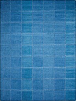 Nourison Westport WP31 Blue Area Rug