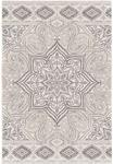 Palmetto Living Adagio 8242 Paisley Points White Area Rug