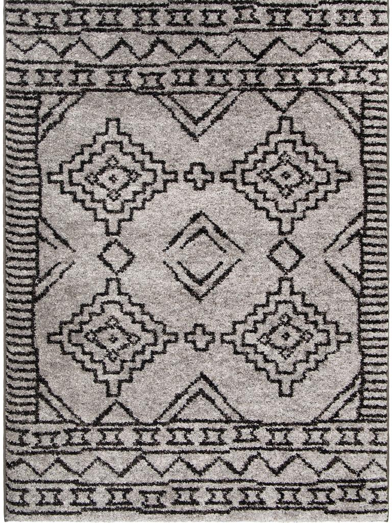 Palmetto Living Casablanca 8423 Tribal 03 Pewter Area Rug
